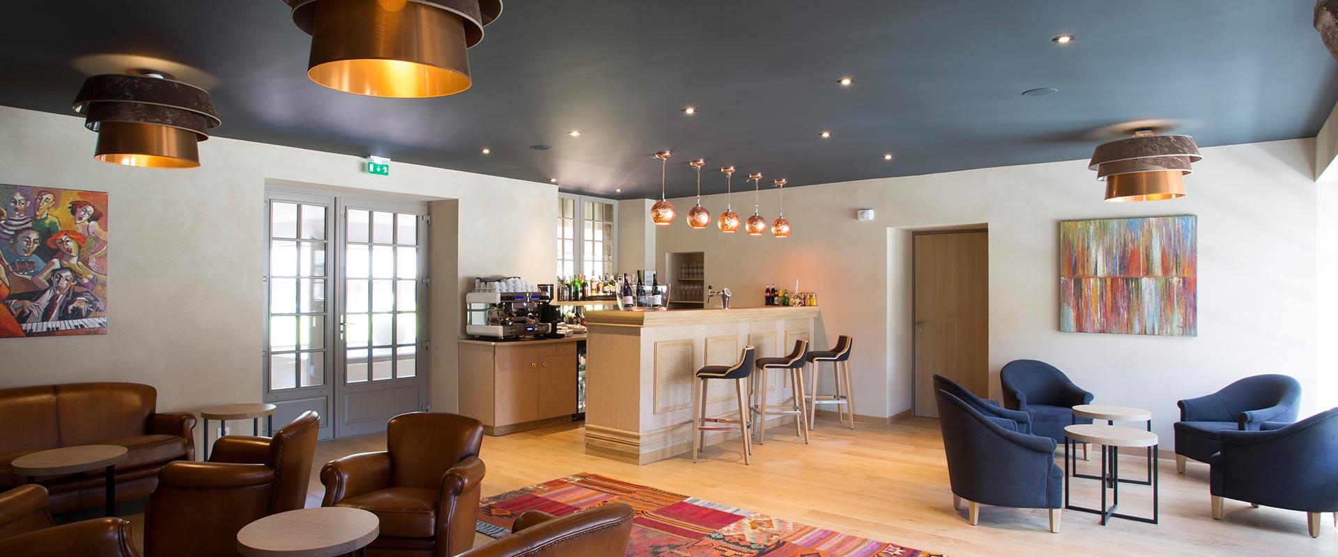 Bar / Lounge de l'hotel de l'Abbaye