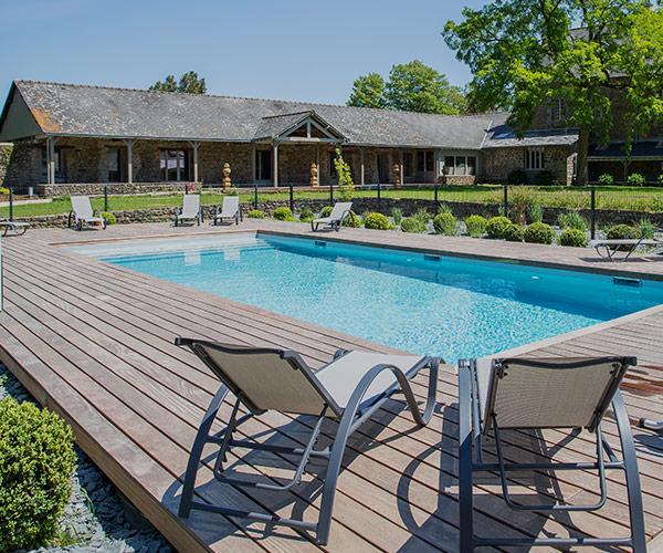 Hotel avec piscine chauffée