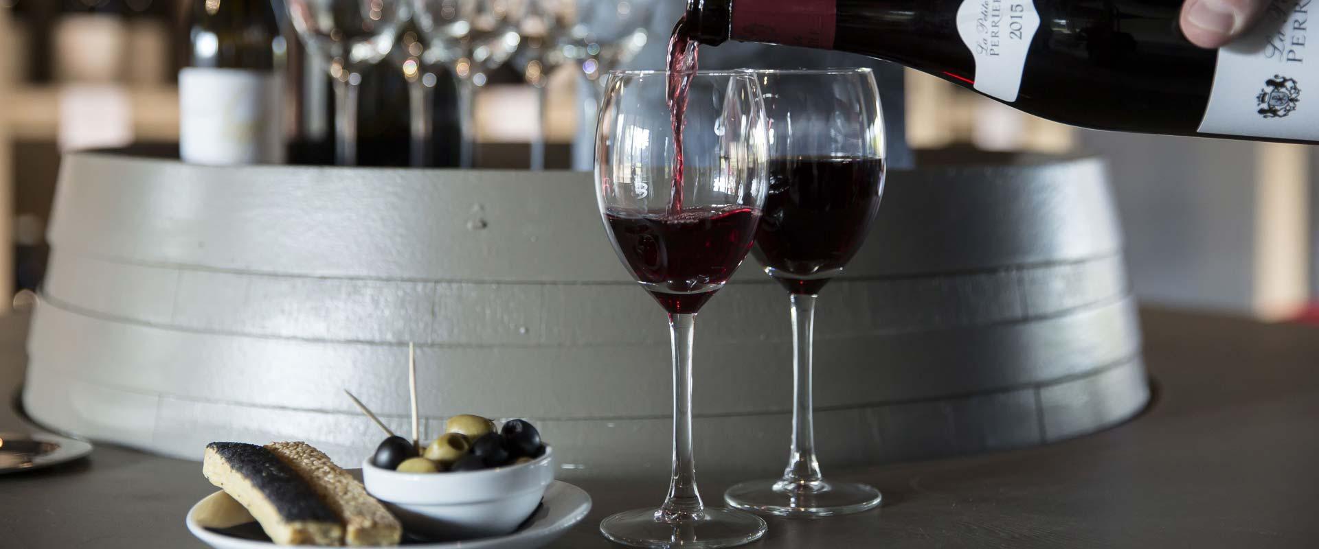 Cave a vin hotel de l'Abbaye