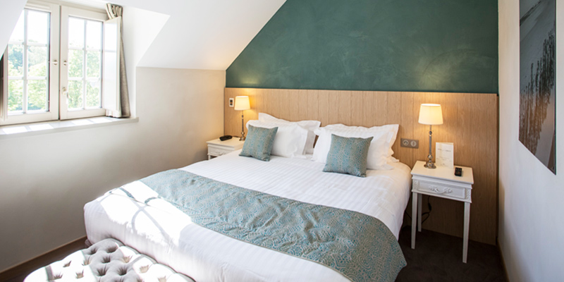 Chambre de charme standard de l'hotel de l'Abbaye de Saint Malo