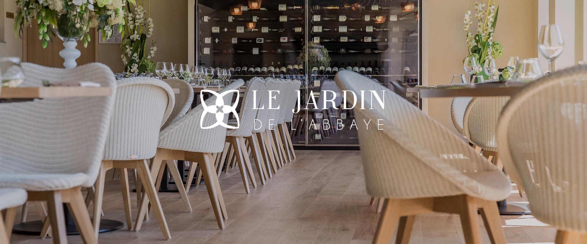 Restaurant le jardin de l 39 abbaye hotel restaurant st malo for Restaurant avec jardin 92