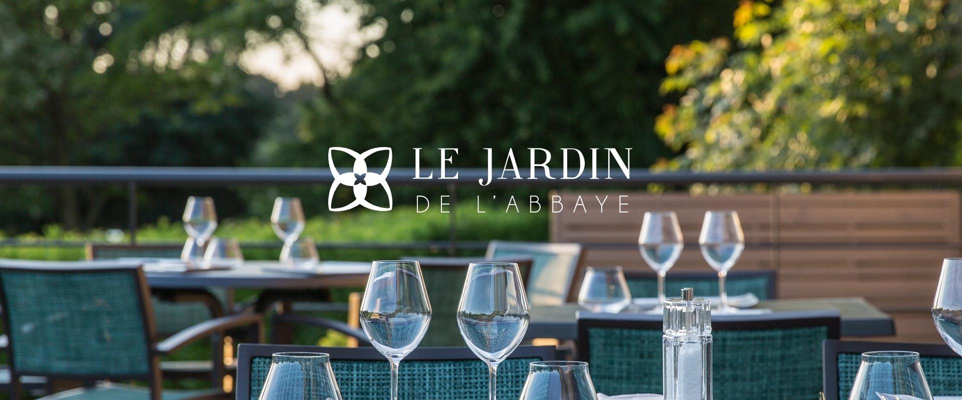 Restaurant le jardin de l 39 abbaye hotel restaurant st malo - Hotel de mougins restaurant le jardin ...