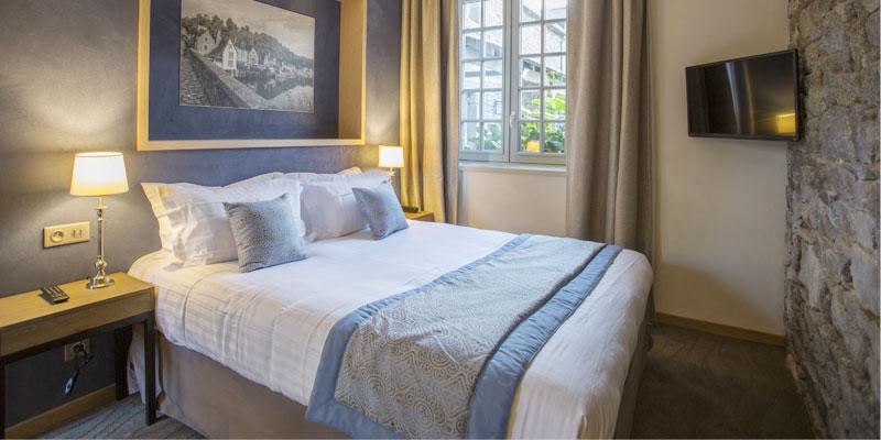 Chambre confort de l'hotel de l'Abbaye